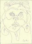 Ich Version 1 (c) Zeichnung von Susanne Haun