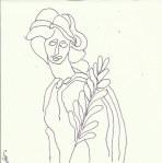 Mausoleum Sophie Charlotte Version 2 (c) Zeichnung von Susanne Haun