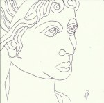 Mausoleum Sophie Charlotte Version 6 (c) Zeichnung von Susanne Haun