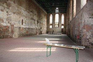 Innenraum der Klosterkirche Grimma (c) Foto von Susanne Haun