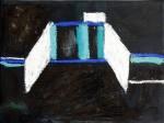 Kanzleramt - 20 x 30 - Pastell auf Leinwand (c) Susanne Haun
