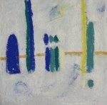 Arkadenzone - 20 x 20 cm - Pastell auf Leinwand (c) Susanne Haun