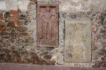 Grabplatte im Innenraum der Klosterkirche Grimma (c) Foto von Susanne Haun