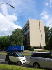 Hansaviertel Niemeyer - Haus - Ausrichtung Süden (c) Foto von Susanne Haun