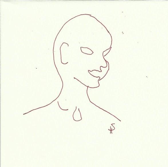 Erster Eindruck (c) Zeichnung von Susanne Haun