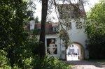 Eingang zum Jagdschloss Grunewald (c) Foto von Susanne Haun