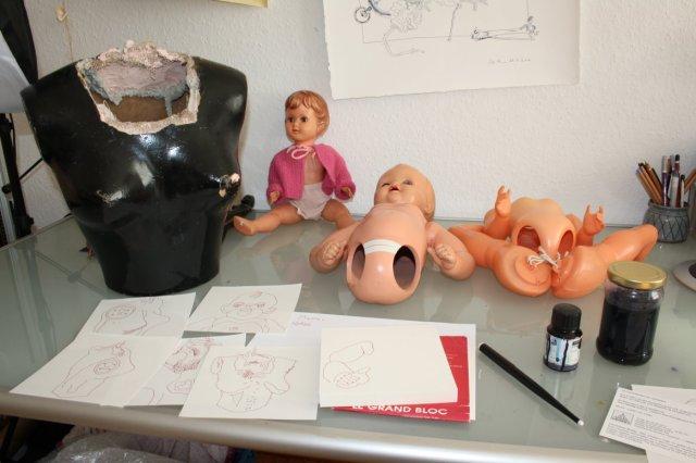 Stilleben mit Puppen (c) Foto von Susanne Haun
