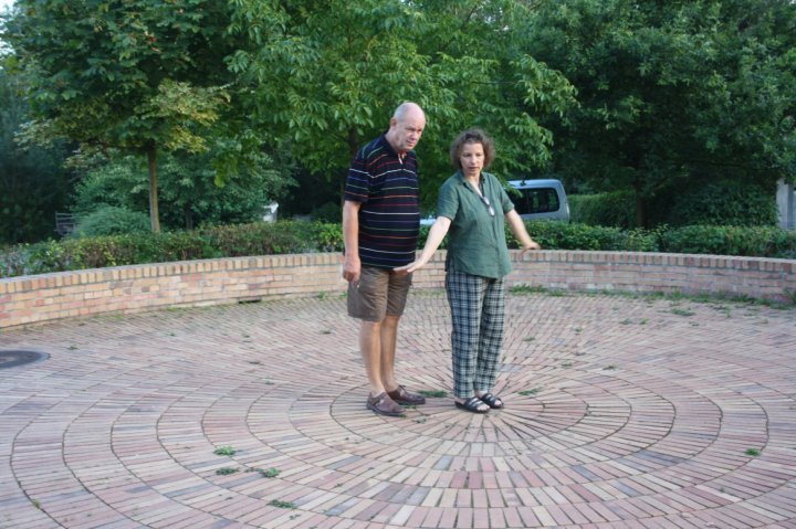 Ute und Jürgen im Echo von Prösitz (c) Foto von Susanne Haun