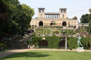 Die Orangerie in Potsdam Sanssouci (c) Foto von Susanne Haun