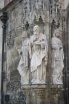 Figuren mit Baldachin Thomaskirche Leipzig (c) Foto von Susanne Haun