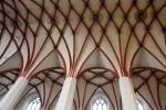 Kreuzrippengewölbe der Thomaskirche in Leipzig (c) Foto von Susanne Haun