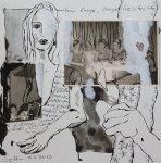 Blatt 25 Eine lange, lange Geschichte (c) Collage von Susanne Haun
