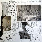 Blatt 25 - Stand 2013 - Eine lange, lange Geschichte (c) Collage von Susanne Haun
