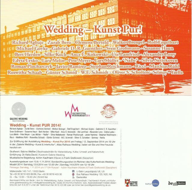 Einladung zur Wedding - Kunst Pur!