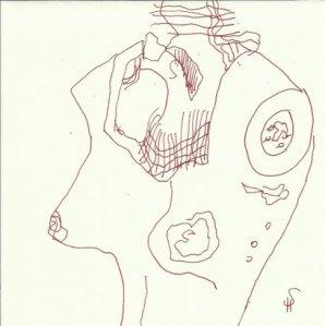 Torso Version 4 (c) Zeichnung von Susanne Haun