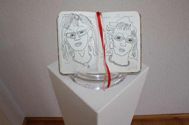 Selbst - Künstlerbuch von Susanne Haun
