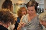 Impressionen von der Ausstellungseröffnung Abschnitte durch die Zeit von Susanne Haun (c) Foto von M.Fanke