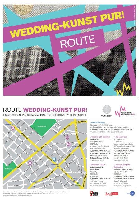 Kultur pur route Galerie Wedding