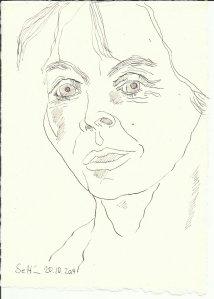 Ich hell längs (c) Zeichnung von Susanne Haun
