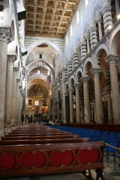 Innenraum Duome Santa Maria Assunta in Pisa (c) Foto von Susanne Haun