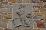Wappen am Geburtshaus von Leonardo da Vinci (c) Foto von M.Fanke