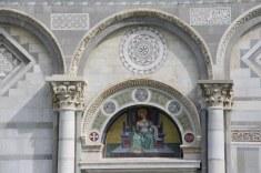 Detail des Duome Santa Maria Assunta in Pisa (c) Foto von Susanne Haun