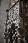 Marmorkanzel im Baptisterium Pisa von Nicola Pisano (c) Foto von M.Fanke