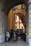 Die Vespa ist ein gern genommenes Fortbewegungsmittel in Pisa - besser ganz Italien (c) Foto von M.Fanke