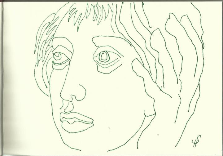 Camposanto - Pisa (c) Zeichnung von Susanne Haun