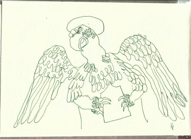 Duomo Santa Maria Assunta (c) Zeichnung von Susanne Haun