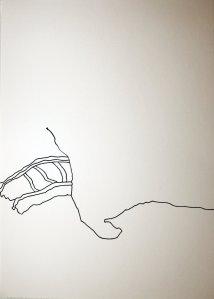 Einer beginnt (c) Zeichnung von J.Küster und S.Haun