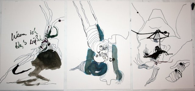 sammenzu (3teilig) - Version 2 (c) Zeichnung von J.Küster und S.Haun