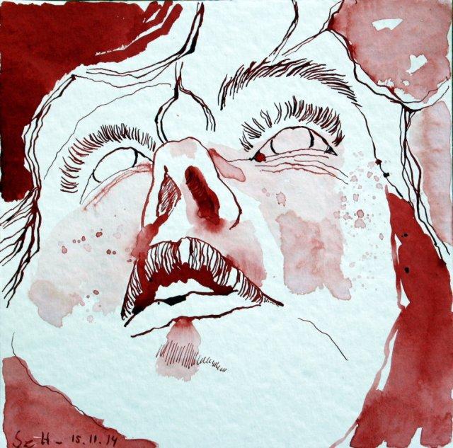 Ich - 1 (c) Zeichnung von Susanne Haun