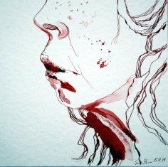 Ich - 3 (c) Zeichnung von Susanne Haun