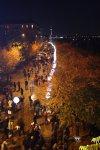 Von der Bösebrücke Ballon - Mauer - 25 Jahre Mauerfall 2014 (c) Foto von Susanne Haun