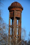 Wasserturm auf dem Südgelände (c) Foto von M.Fanke