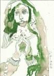 Maria Vers 1 (c) Zeichnung von Susanne Haun