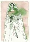Maria Vers 2 (c) Zeichnung von Susanne Haun