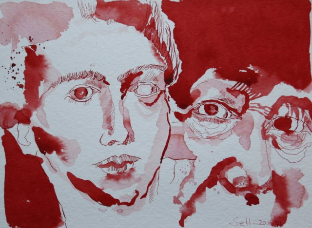 Mein Sinnbild von Simone de Beauvoir  (c) Zeichnung von Susanne Haun