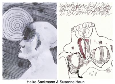 Susanne Haun und Heike Sackmann (c) Zeichnungen von S.H und H.S.