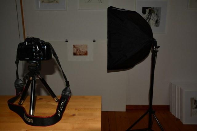 Reproduktion von Kunst (c) Foto von Susanne Haun