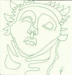 Inspirationen aus dem Siena Dom (c) Zeichnung von Susanne Haun