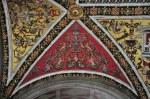 Deckenmalerei der Bibliothek des Siener Doms (c) Foto von M.Fanke