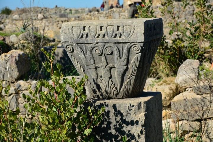 Detail in Volubilis (c) Foto von M.Fanke
