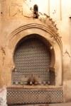 Brunnen in der Medina von Fes signalisiren Bezirkswechsel (c) Foto von Susanne Haun