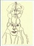3 Starke Nerven (c) Zeichnung von Susanne Haun
