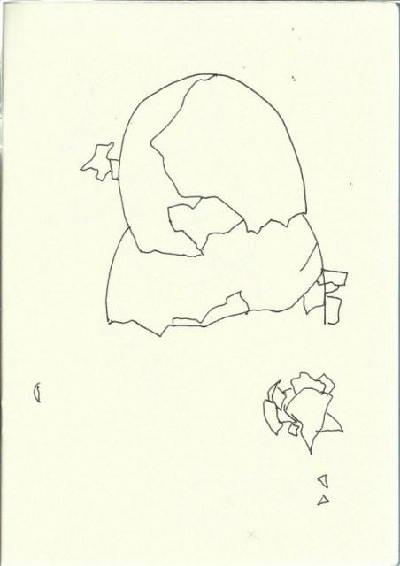 Ei Ei (c) Zeichnung von Susanne Haun