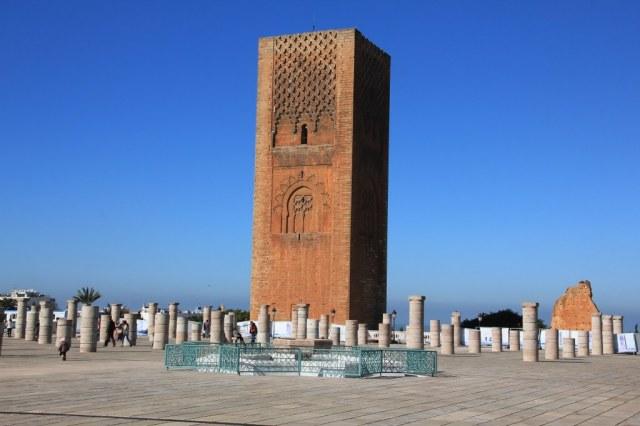 Der Hassanturm in Rabat (c) Foto von Susanne Haun