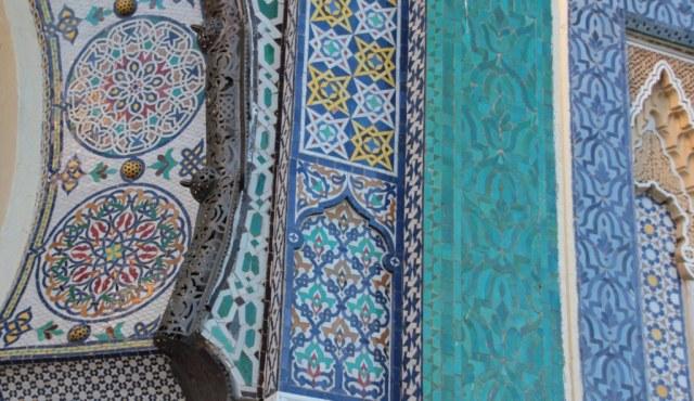 Detail Palast Fes (c) Foto von Susanne Haun