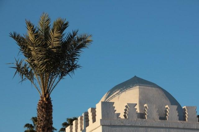An der Kutubiya Moschee (c) Foto von Susanne Haun